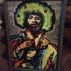 """Other - Jimi Hendrix """"Hypnose"""" painting"""